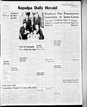 Primary view of Sapulpa Daily Herald (Sapulpa, Okla.), Vol. 47, No. 26, Ed. 1 Wednesday, October 11, 1961