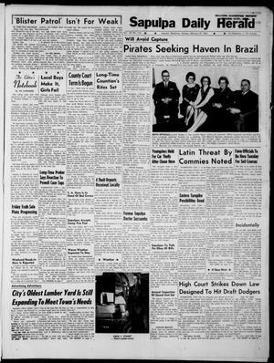 Primary view of Sapulpa Daily Herald (Sapulpa, Okla.), Vol. 48, No. 134, Ed. 1 Monday, February 18, 1963