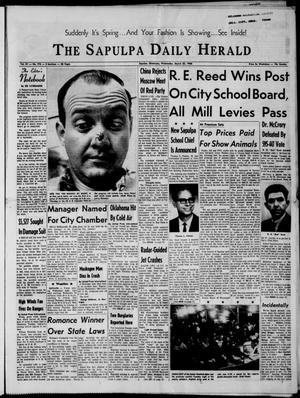 Primary view of The Sapulpa Daily Herald (Sapulpa, Okla.), Vol. 51, No. 175, Ed. 1 Wednesday, March 23, 1966