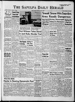 Primary view of The Sapulpa Daily Herald (Sapulpa, Okla.), Vol. 49, No. 158, Ed. 1 Wednesday, March 4, 1964