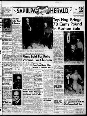Primary view of Sapulpa Sunday Herald (Sapulpa, Okla.), Vol. 40, No. 164, Ed. 1 Sunday, March 13, 1955