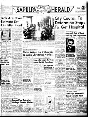 Primary view of Sapulpa Daily Herald (Sapulpa, Okla.), Vol. 41, No. 58, Ed. 1 Tuesday, November 8, 1955