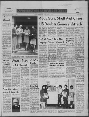 Primary view of Sapulpa Daily Herald (Sapulpa, Okla.), Vol. 54, No. 150, Ed. 1 Sunday, February 23, 1969