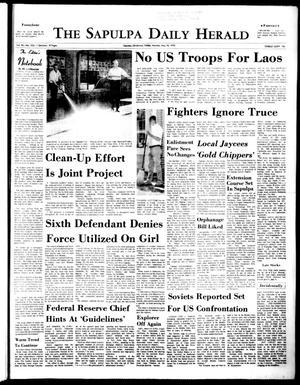 Primary view of The Sapulpa Daily Herald (Sapulpa, Okla.), Vol. 56, No. 223, Ed. 1 Monday, May 18, 1970