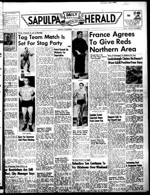Primary view of Sapulpa Daily Herald (Sapulpa, Okla.), Vol. 39, No. 270, Ed. 1 Monday, July 19, 1954
