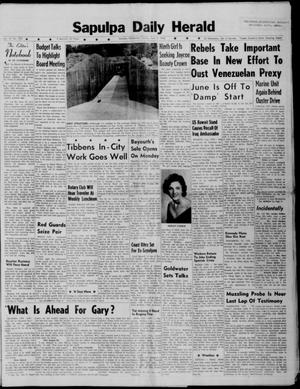 Primary view of Sapulpa Daily Herald (Sapulpa, Okla.), Vol. 47, No. 225, Ed. 1 Sunday, June 3, 1962