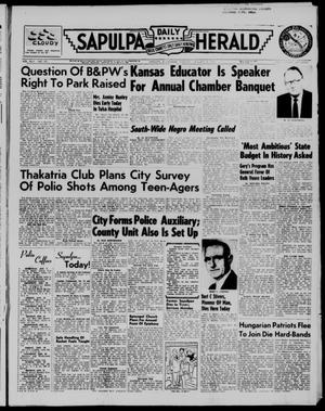 Primary view of Sapulpa Daily Herald (Sapulpa, Okla.), Vol. 42, No. 107, Ed. 1 Tuesday, January 8, 1957