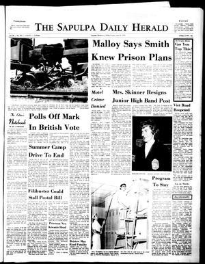 Primary view of The Sapulpa Daily Herald (Sapulpa, Okla.), Vol. 56, No. 251, Ed. 1 Friday, June 19, 1970