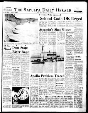 Primary view of The Sapulpa Daily Herald (Sapulpa, Okla.), Vol. 56, No. 203, Ed. 1 Friday, April 24, 1970