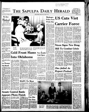 Primary view of The Sapulpa Daily Herald (Sapulpa, Okla.), Vol. 57, No. 47, Ed. 1 Tuesday, October 27, 1970