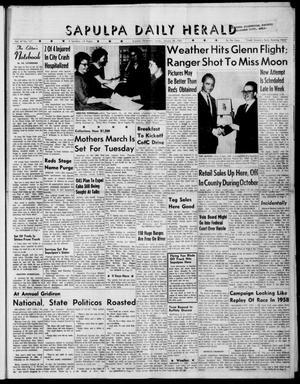 Primary view of Sapulpa Daily Herald (Sapulpa, Okla.), Vol. 47, No. 117, Ed. 1 Sunday, January 28, 1962