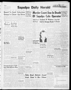 Primary view of Sapulpa Daily Herald (Sapulpa, Okla.), Vol. 46, No. 71, Ed. 1 Tuesday, December 6, 1960