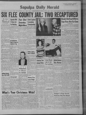 Primary view of Sapulpa Daily Herald (Sapulpa, Okla.), Vol. 48, No. 80, Ed. 1 Sunday, December 16, 1962
