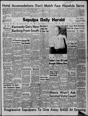 Primary view of Sapulpa Daily Herald (Sapulpa, Okla.), Vol. 45, No. 264, Ed. 1 Sunday, July 10, 1960