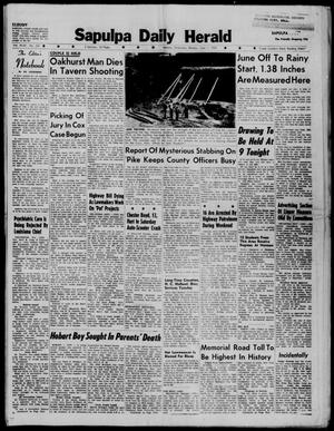 Primary view of Sapulpa Daily Herald (Sapulpa, Okla.), Vol. 44, No. 231, Ed. 1 Monday, June 1, 1959