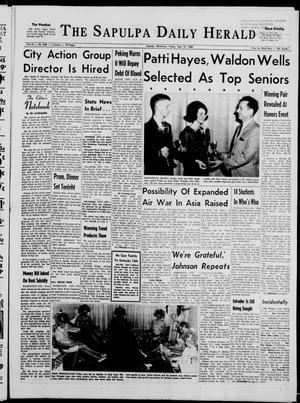 Primary view of The Sapulpa Daily Herald (Sapulpa, Okla.), Vol. 51, No. 219, Ed. 1 Friday, May 13, 1966