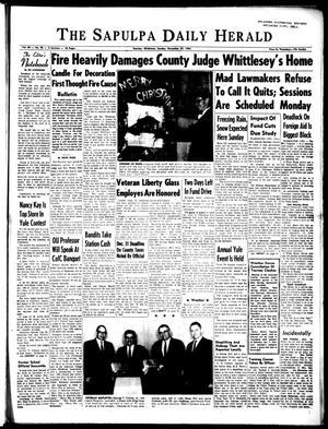 Primary view of The Sapulpa Daily Herald (Sapulpa, Okla.), Vol. 49, No. 95, Ed. 1 Sunday, December 22, 1963