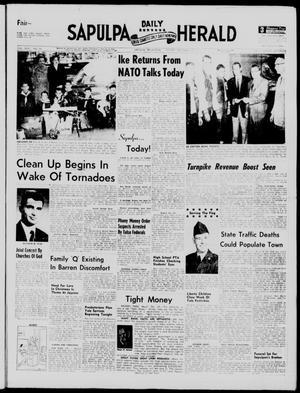 Primary view of Sapulpa Daily Herald (Sapulpa, Okla.), Vol. 43, No. 94, Ed. 1 Friday, December 20, 1957