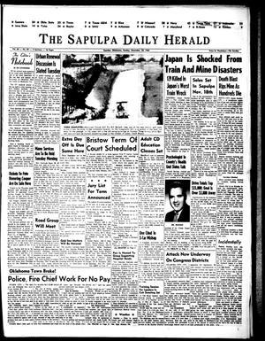 Primary view of The Sapulpa Daily Herald (Sapulpa, Okla.), Vol. 49, No. 59, Ed. 1 Sunday, November 10, 1963