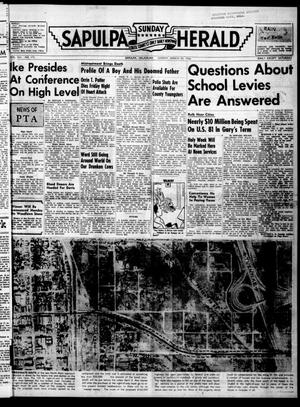 Primary view of Sapulpa Sunday Herald (Sapulpa, Okla.), Vol. 41, No. 173, Ed. 1 Sunday, March 25, 1956