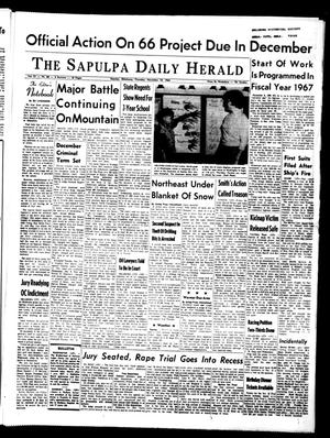 Primary view of The Sapulpa Daily Herald (Sapulpa, Okla.), Vol. 51, No. 68, Ed. 1 Thursday, November 18, 1965