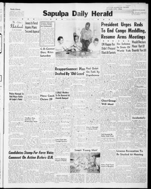 Primary view of Sapulpa Daily Herald (Sapulpa, Okla.), Vol. 46, No. 8, Ed. 1 Thursday, September 22, 1960