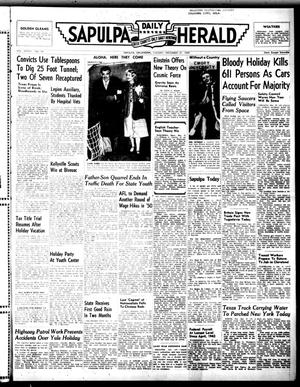 Primary view of Sapulpa Daily Herald (Sapulpa, Okla.), Vol. 36, No. 98, Ed. 1 Tuesday, December 27, 1949