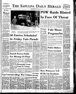 Primary view of The Sapulpa Daily Herald (Sapulpa, Okla.), Vol. 57, No. 79, Ed. 1 Thursday, December 3, 1970