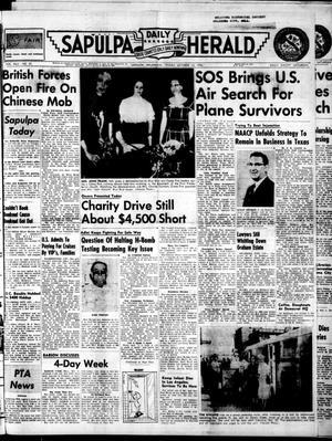 Primary view of Sapulpa Daily Herald (Sapulpa, Okla.), Vol. 42, No. 35, Ed. 1 Friday, October 12, 1956
