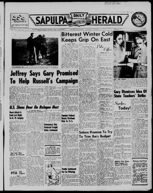 Primary view of Sapulpa Daily Herald (Sapulpa, Okla.), Vol. 42, No. 115, Ed. 1 Thursday, January 17, 1957