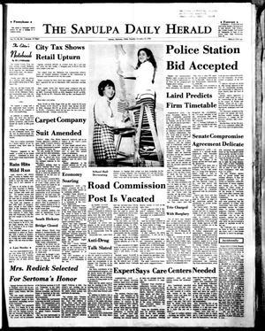 Primary view of The Sapulpa Daily Herald (Sapulpa, Okla.), Vol. 57, No. 89, Ed. 1 Tuesday, December 15, 1970