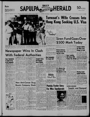 Primary view of Sapulpa Daily Herald (Sapulpa, Okla.), Vol. 42, No. 241, Ed. 1 Friday, June 14, 1957