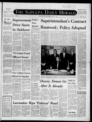 Primary view of The Sapulpa Daily Herald (Sapulpa, Okla.), Vol. 56, No. 111, Ed. 1 Wednesday, January 7, 1970