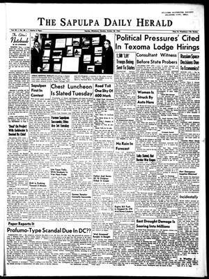 Primary view of The Sapulpa Daily Herald (Sapulpa, Okla.), Vol. 49, No. 48, Ed. 1 Monday, October 28, 1963