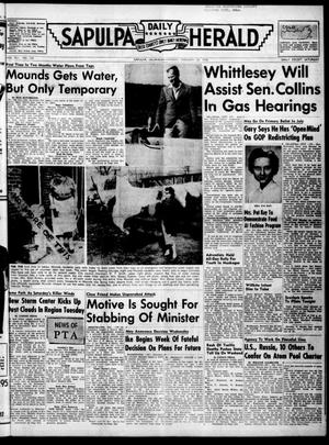 Primary view of Sapulpa Daily Herald (Sapulpa, Okla.), Vol. 41, No. 150, Ed. 1 Monday, February 27, 1956