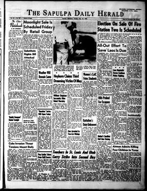 Primary view of The Sapulpa Daily Herald (Sapulpa, Okla.), Vol. 49, No. 223, Ed. 1 Tuesday, May 19, 1964