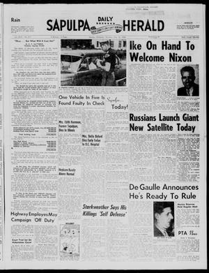 Primary view of Sapulpa Daily Herald (Sapulpa, Okla.), Vol. 43, No. 217, Ed. 1 Thursday, May 15, 1958