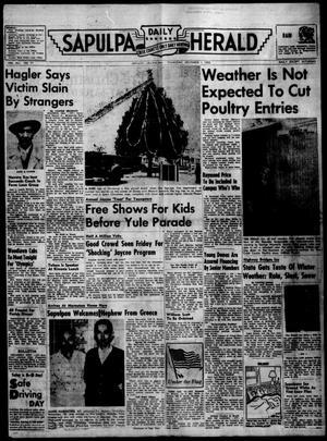 Primary view of Sapulpa Daily Herald (Sapulpa, Okla.), Vol. 41, No. 77, Ed. 1 Thursday, December 1, 1955