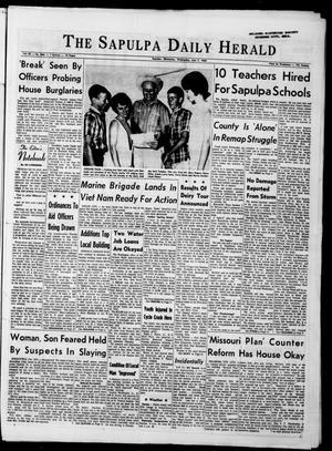 Primary view of The Sapulpa Daily Herald (Sapulpa, Okla.), Vol. 50, No. 264, Ed. 1 Wednesday, July 7, 1965