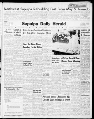 Primary view of Sapulpa Daily Herald (Sapulpa, Okla.), Vol. 46, No. 69, Ed. 1 Sunday, December 4, 1960