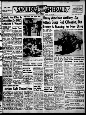 Primary view of Sapulpa Daily Herald (Sapulpa, Okla.), Vol. 36, No. 262, Ed. 1 Monday, July 10, 1950