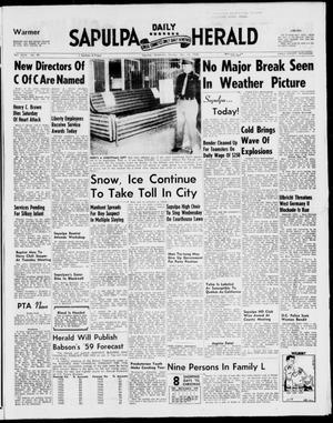 Primary view of Sapulpa Daily Herald (Sapulpa, Okla.), Vol. 44, No. 89, Ed. 1 Monday, December 15, 1958