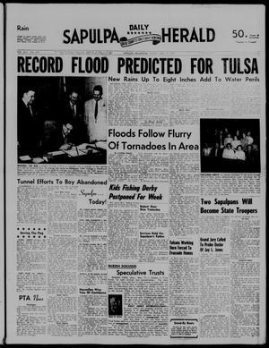 Primary view of Sapulpa Daily Herald (Sapulpa, Okla.), Vol. 42, No. 218, Ed. 1 Friday, May 17, 1957
