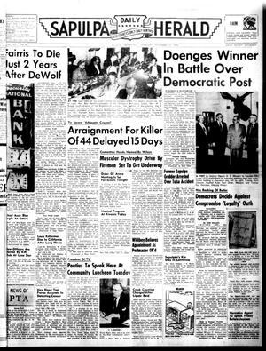 Primary view of Sapulpa Daily Herald (Sapulpa, Okla.), Vol. 41, No. 66, Ed. 1 Thursday, November 17, 1955