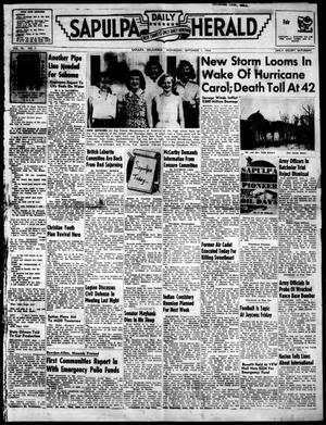 Primary view of Sapulpa Daily Herald (Sapulpa, Okla.), Vol. 40, No. 1, Ed. 1 Wednesday, September 1, 1954