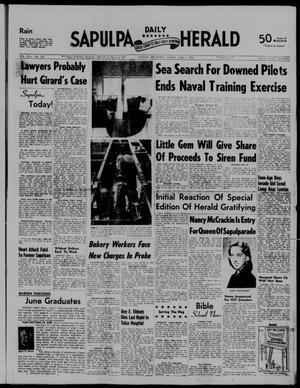 Primary view of Sapulpa Daily Herald (Sapulpa, Okla.), Vol. 42, No. 235, Ed. 1 Friday, June 7, 1957