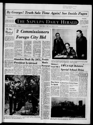 Primary view of The Sapulpa Daily Herald (Sapulpa, Okla.), Vol. 56, No. 150, Ed. 1 Sunday, February 22, 1970