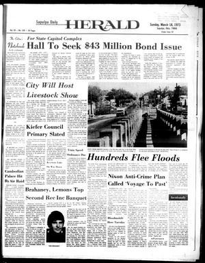 Primary view of Sapulpa Daily Herald (Sapulpa, Okla.), Vol. 59, No. 158, Ed. 1 Sunday, March 18, 1973