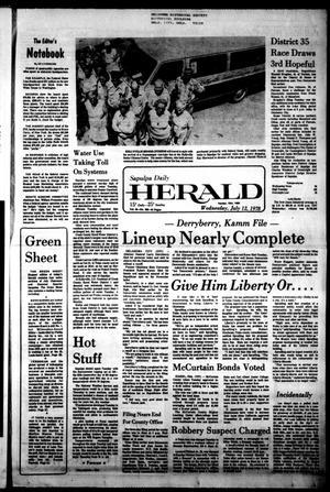 Primary view of Sapulpa Daily Herald (Sapulpa, Okla.), Vol. 64, No. 256, Ed. 1 Wednesday, July 12, 1978