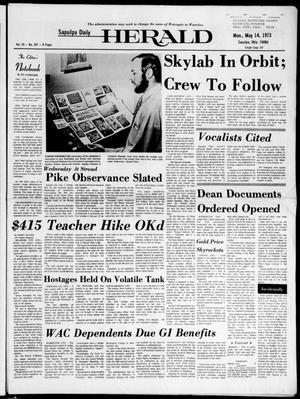 Primary view of Sapulpa Daily Herald (Sapulpa, Okla.), Vol. 59, No. 207, Ed. 1 Monday, May 14, 1973